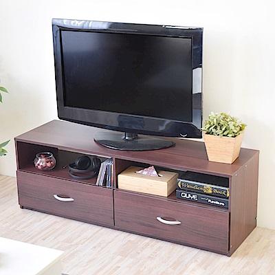 《HOPMA》DIY巧收現代二抽電視櫃