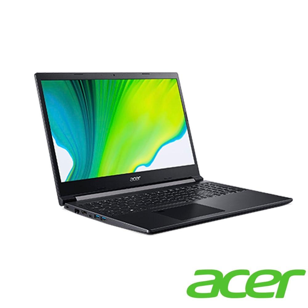 Acer A715-75G-52MV 15吋筆電(i5-9300H/GTX1650/8G/512G SSD/Aspire 7/黑)