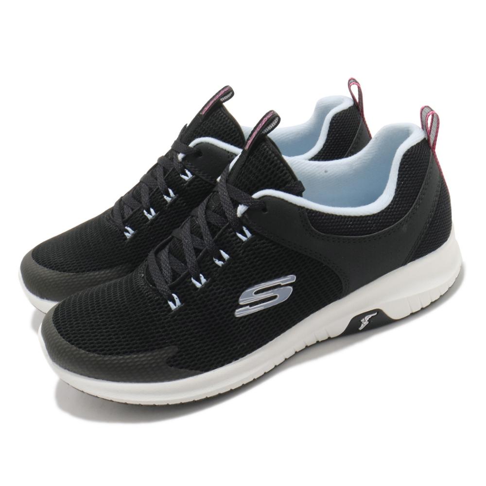 Skechers 休閒鞋 Ultra Flex Prime 女鞋 防滑 耐磨 輪胎大底 穩定 避震 緩衝 黑 白 149398BKLB