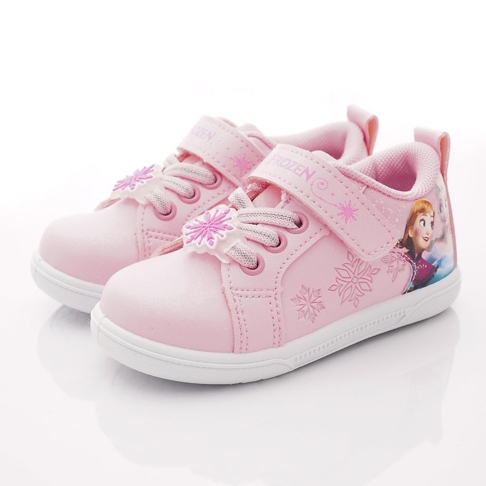 迪士尼童鞋 冰雪奇緣甜美運動鞋款 NI4203粉紅(中小童段)