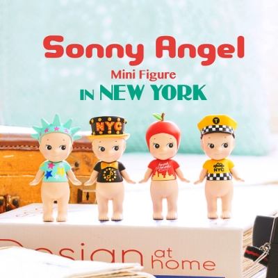 SonnyAngel 2019 旅行系列-紐約限定版(盒裝12入)
