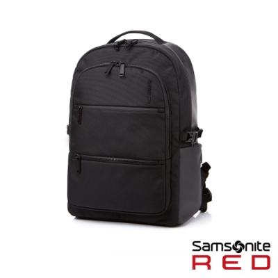 Samsonite RED HAESOL 實用現代款筆電後背包M 15.6吋(黑)