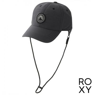 【ROXY】UV OUTDOOR 6 PANELS 棒球帽 黑色