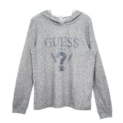 GUESS-女裝-經典倒三角logo休閒套裝-灰
