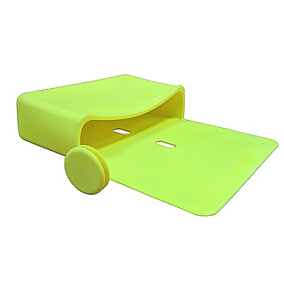 金德恩 隨意貼矽膠淺型置物收納袋/止滑袋