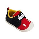 迪士尼童鞋 米奇 魔鬼氈防滑休閒鞋-紅