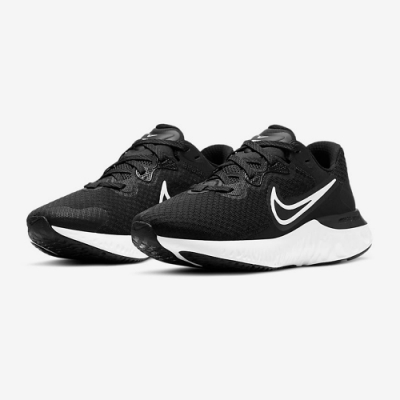 NIKE 慢跑鞋 緩震 訓練 健身 運動鞋 女鞋 黑 CU3505-005 WMNS NIKE RENEW RUN 2