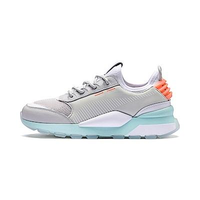 PUMA-RS-0 TRACKS 男女慢跑鞋-輕綠灰
