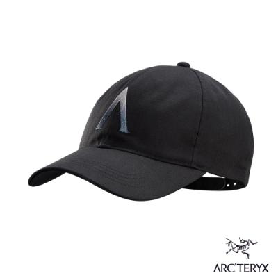 Arcteryx 始祖鳥 Converge 六分割 混棉 棒球帽 黑