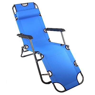 TreeWalker 單人三段式躺椅(露營床)-天空藍