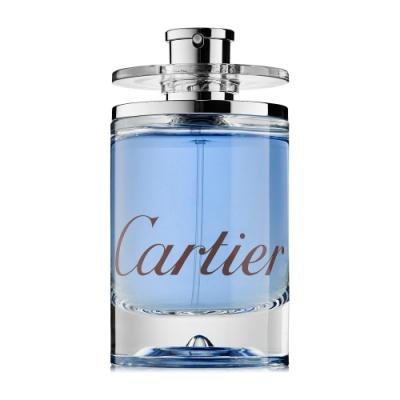 *(即期品)Cartier 卡地亞悠藍之水男性淡香水100ml tester