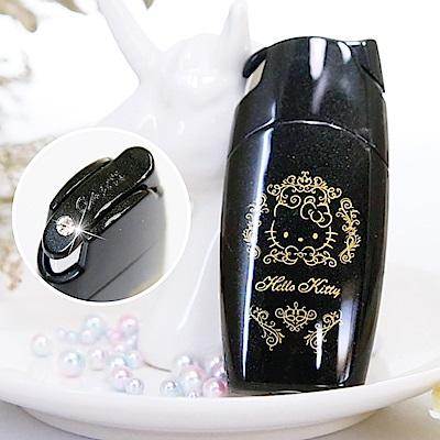Hello Kitty X Caseti 黑色按壓式-Kitty 聯名香水瓶 旅行香水攜