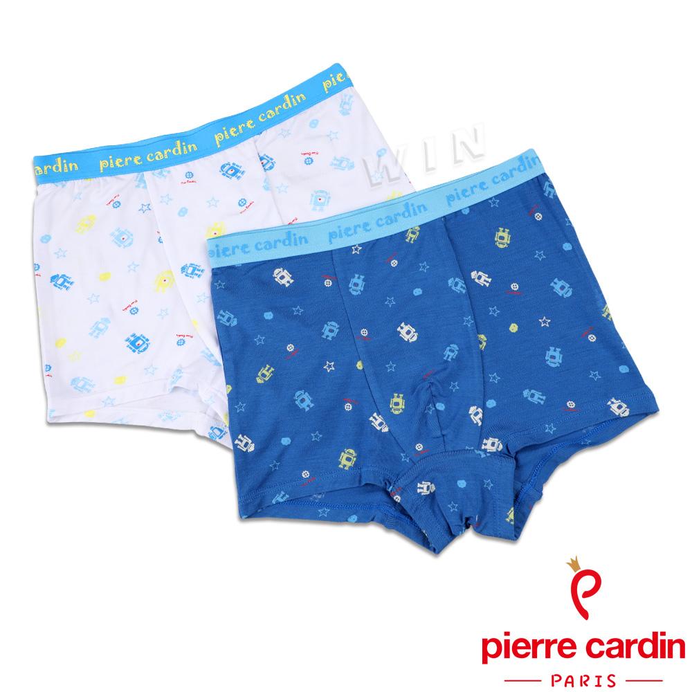皮爾卡登 男兒童宇宙機器人平口褲-混色2件組(137005)