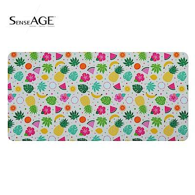 SenseAGE 3in1可水洗防塵滑鼠墊擦拭布(水果款)