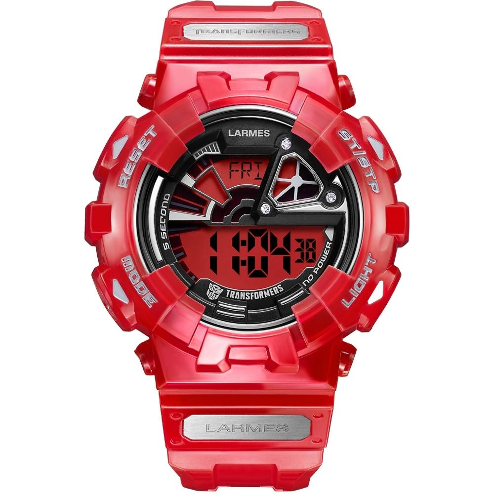 Transformers 變形金剛 競速感聯名限量潮流腕錶 (御天至尊)LM-TF003.SPM4T.411.4TM