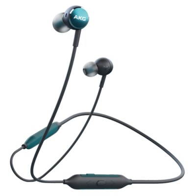 AKG Y100 頸掛式藍牙耳機【藍】