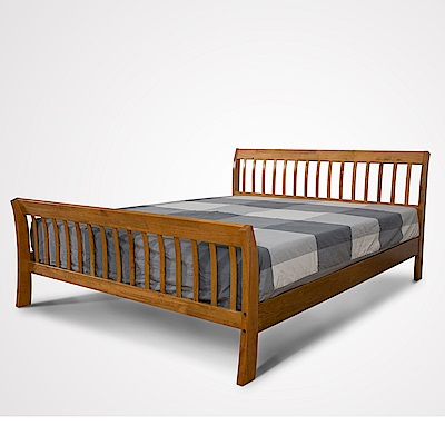 日木家居 Ozzie歐祺雙人5尺實木床台/床架