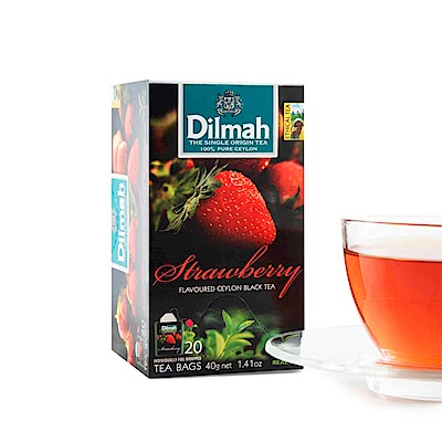 Dilmah帝瑪 草莓紅茶(2gx20入)
