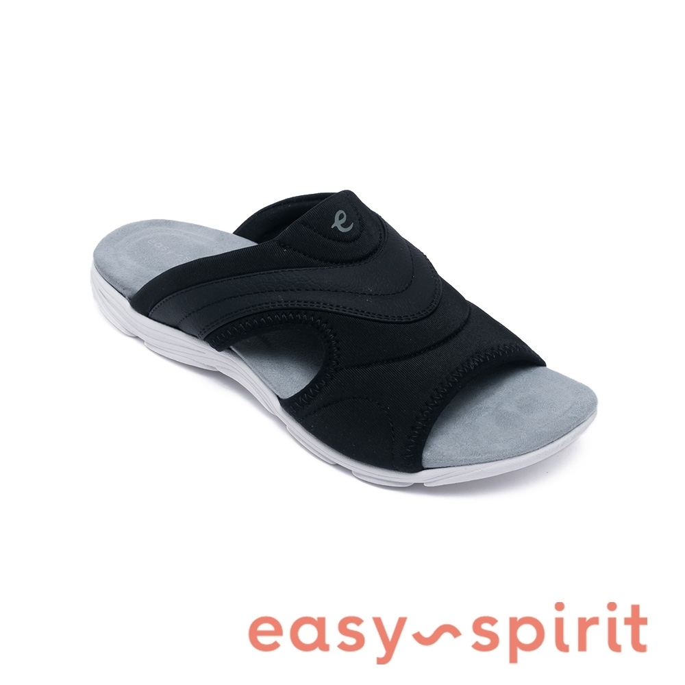 Easy Spirit-seLANGUID2 舒適好穿涼拖鞋-黑色