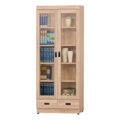 AS-法蘭克下抽書櫥-79.5x32x184.5cm