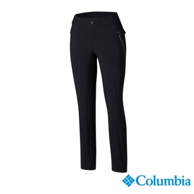 Columbia 哥倫比亞 女款- 防曬50防潑長褲-黑色 UAK03370BK