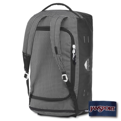 JANSPORT Good Vibes Hauler 45 系列後背包-黑白格