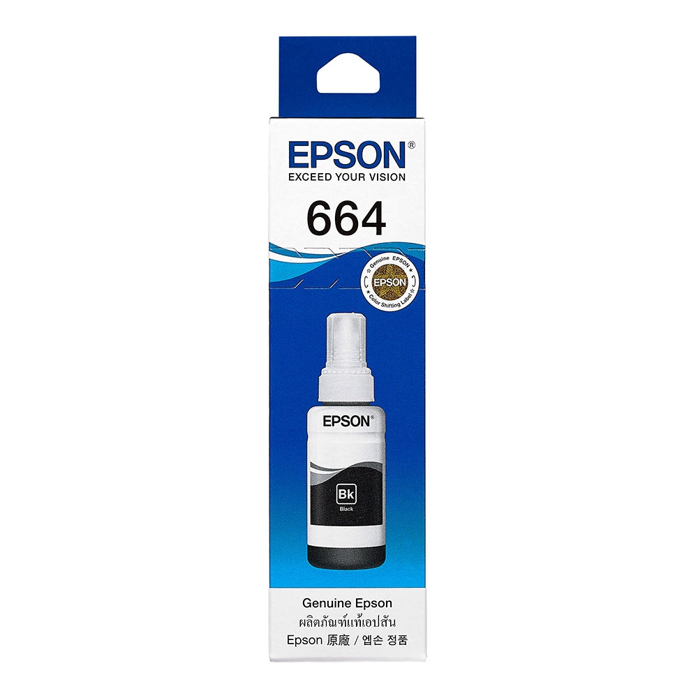 EPSON L100/L200 T664100 原廠黑色墨水匣
