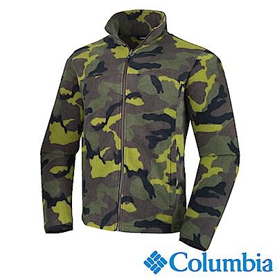 Columbia 哥倫比亞 男款-保暖刷毛夾克-迷彩UAM00050NC