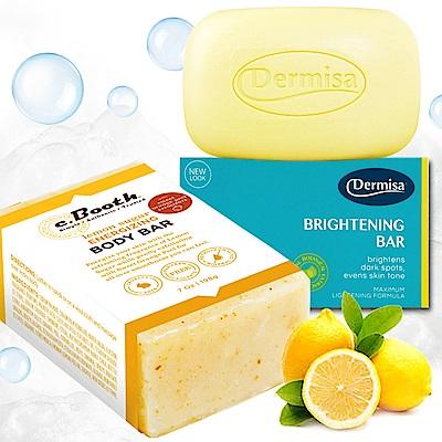 [時時樂限定] Dermisa熱銷冠軍淡斑皂+檸檬橘皮亮白保濕皂(重量版)★市價1330 @ Y!購物