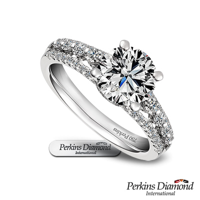 PERKINS 伯金仕 約瑟夫系列  1 克拉G/VS 2  鑽石戒指