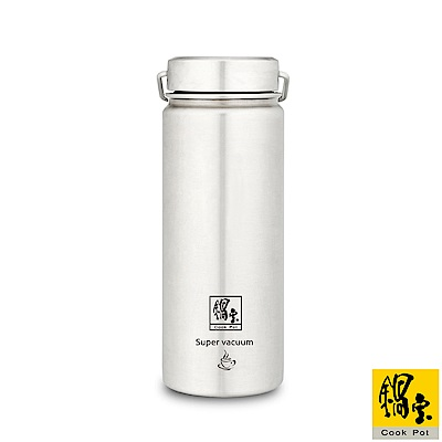 鍋寶 316不鏽鋼內陶瓷保溫瓶560CC VBT-3656-1