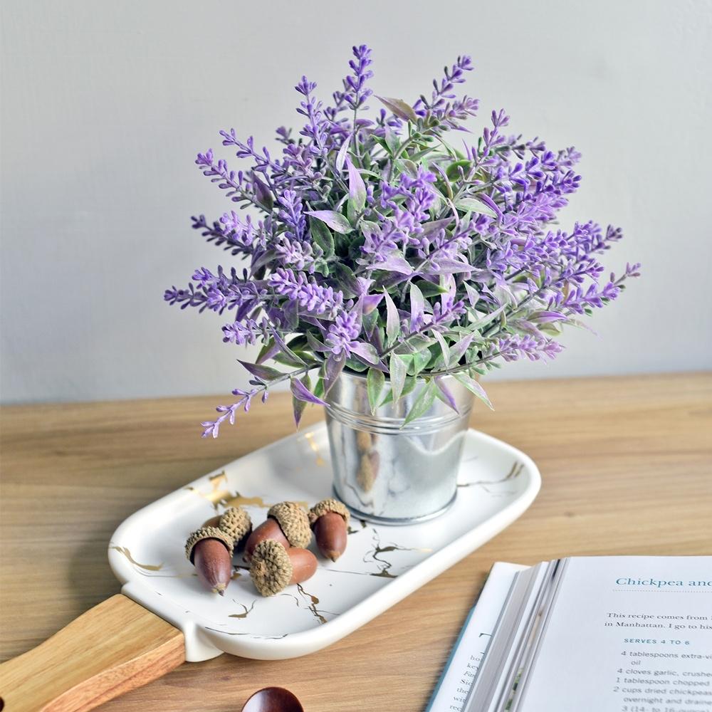 【Meric Garden】創意北歐ins風仿真迷你療癒小盆栽/桌面裝飾擺設_2款任選