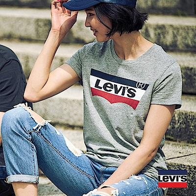 T恤 女裝 LOGO 灰色 Sportswear- Levis