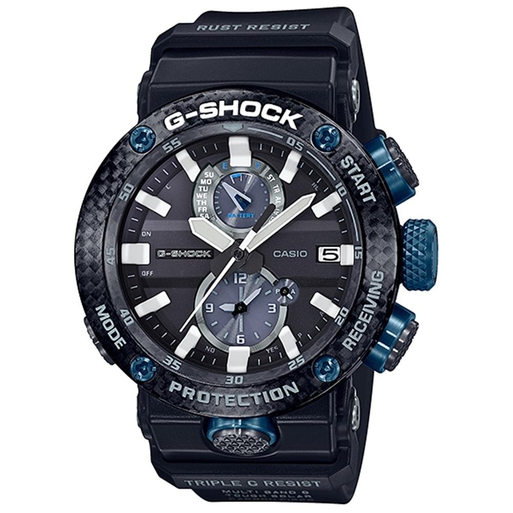 CASIO卡西歐 G-SHOCK系列飛行錶(GWR-B1000-1A1)-黑/46.4mm