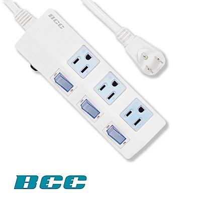 BCC FC139 3切3插延長線