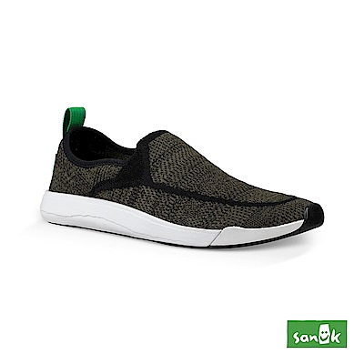 SANUK CHIBA QUEST編織素面拉環設計休閒鞋-中性款(橄欖綠)