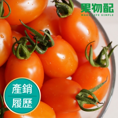 【橙蜜香小番茄】產銷履歷《澄黃金亮.香甜如蜜/3kg》