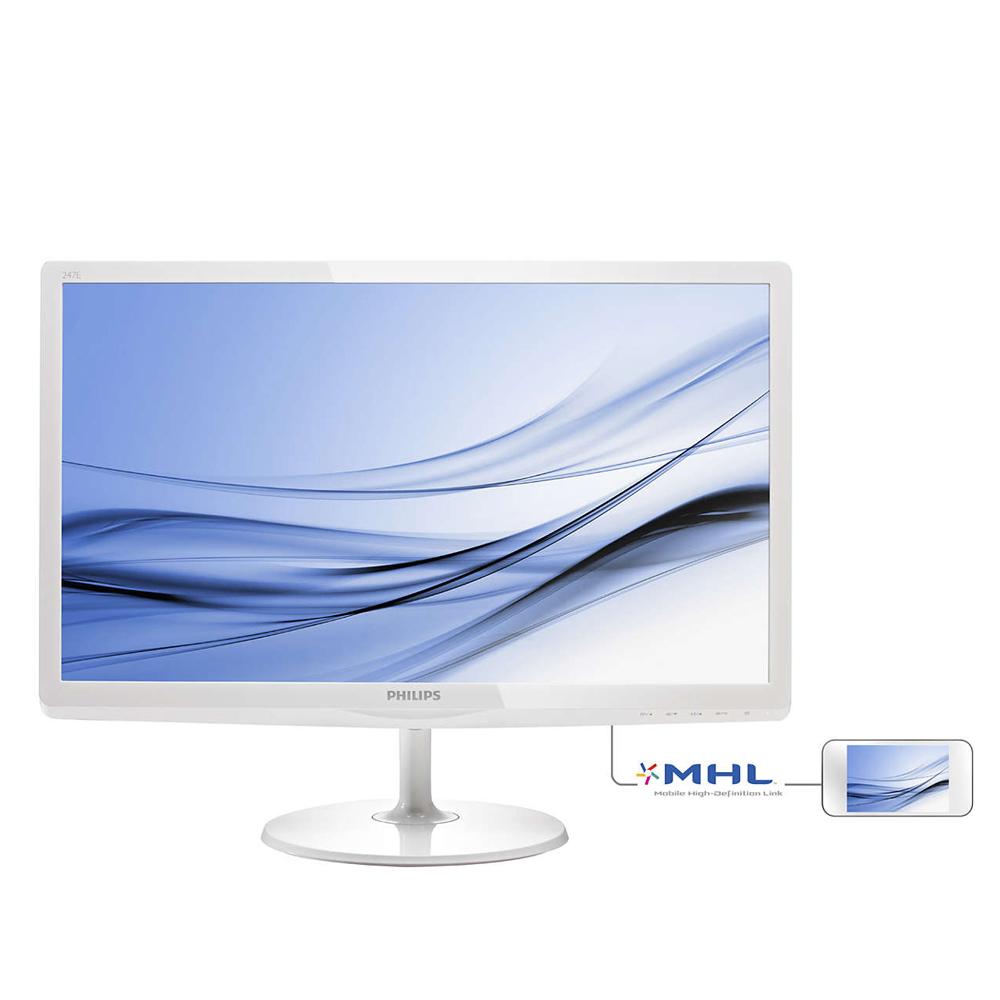 PHILIPS 24型 247E6EDAW IPS-ADS 寬螢幕 顯示器