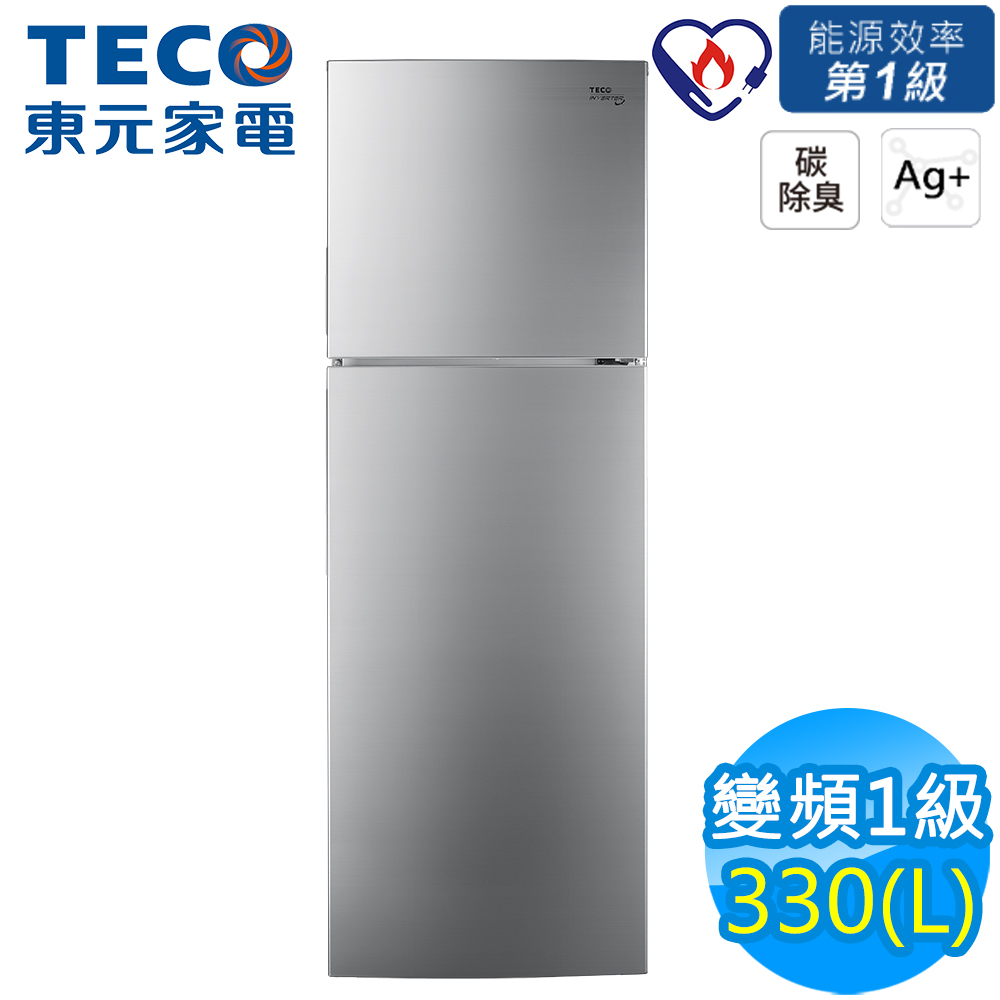 TECO東元 330L 1級變頻2門電冰箱 R3501XHS
