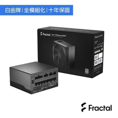 Fractal Design Product Sheet Ion+2 Platinum 560W 電源供應器-白金牌
