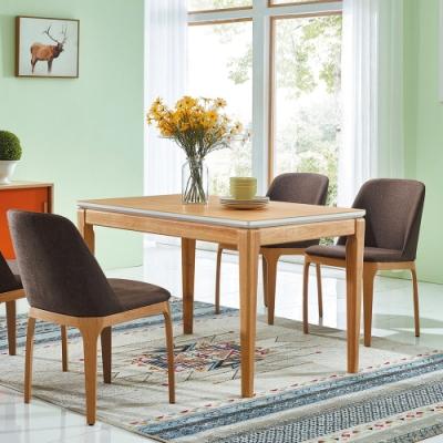 MUNA 凱羅4尺木紋餐桌(不含椅) 120X75X72cm