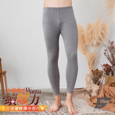 GIAT 台灣製UP6度C蓄熱機能保暖褲(男女可穿/M-2L)-淺灰