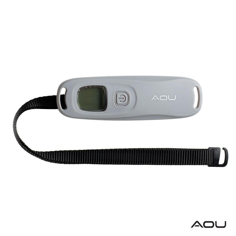 AOU 多功能口袋型行李秤 收納方便 攜帶式手提行李電子秤 66-052