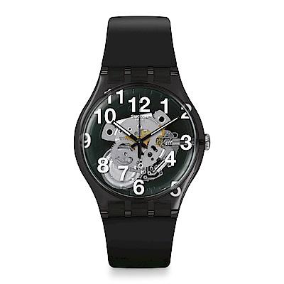 Swatch  Listen to me系列 BLACK BOARD 黑色時尚