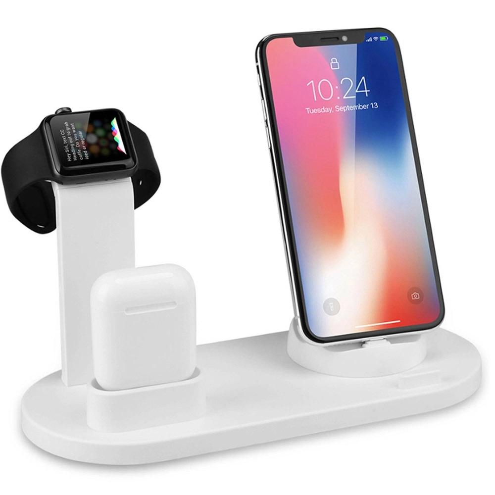 Apple Watch/AirPods/手機三規三合一充電架