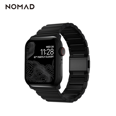 NOMAD 全球限量 Apple Watch 鈦金屬錶帶2021新款-44/42mm