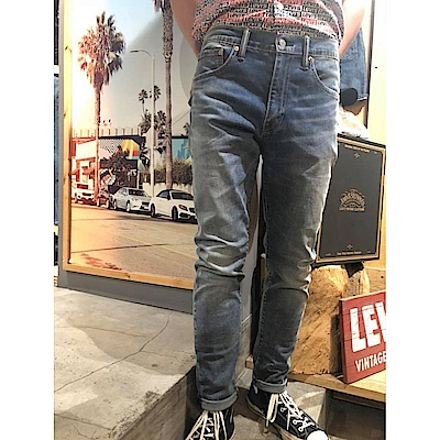 Levis男款 上寬下窄 512Taper低腰牛仔長褲 CoolJeans