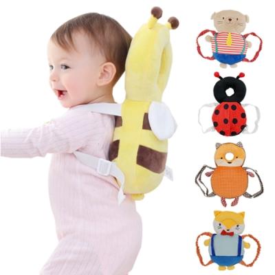 JoyNa寶寶頭部保護墊-學步護頸枕防撞墊 動物造型寶寶護頭枕