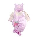 台灣製三層棉帽衣腳三件套兔衣組 b0239 魔法Baby