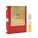 Cartier 卡地亞 唯我獨尊 金色版針管小香 1.5ml